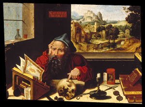Pieter Coecke van Aelst The Elder, Saint Jerome in his study