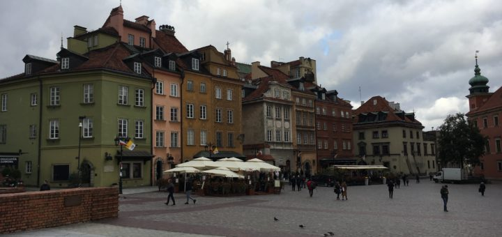warsaw historical centre