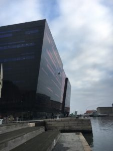 The 'Black Diamond' – Denmark's Royal Library in Copenhagen.